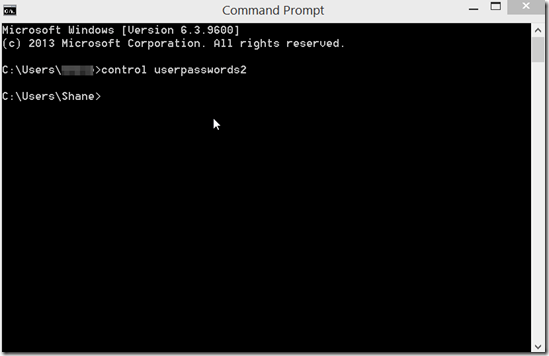 Start Windows 8 without password