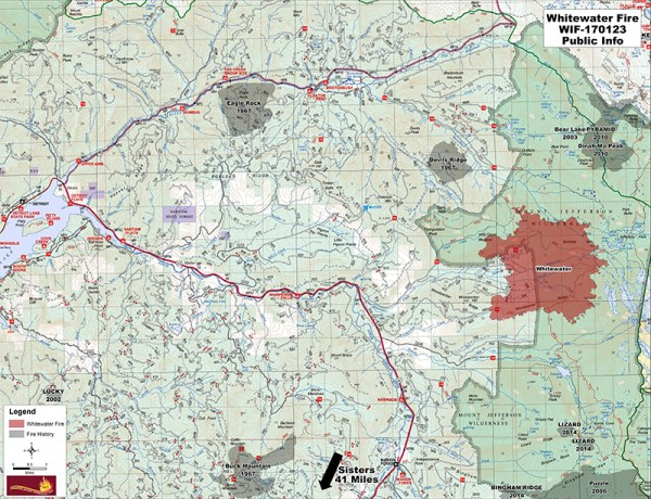 whitewater fire closure
