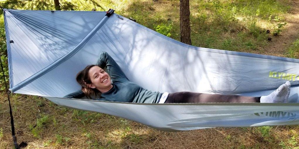 hiking in hammock