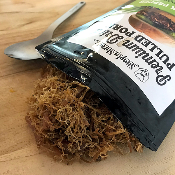 simply shredz pulled pork