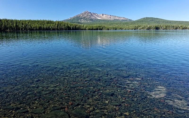 summit lake diamond peak wilderness oregon