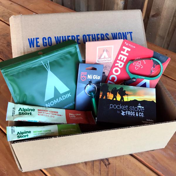 nomadik hiker box