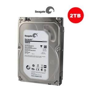 Seagate 2TB BarraCuda SATA III Interno | 3.5 Inch 7200 Rpm 64Mb 6Gb/S Internal Sata Drive -ST2000DMA06