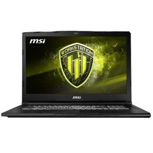 workstation portatil msi we63 8si intel core i7 8750h octava