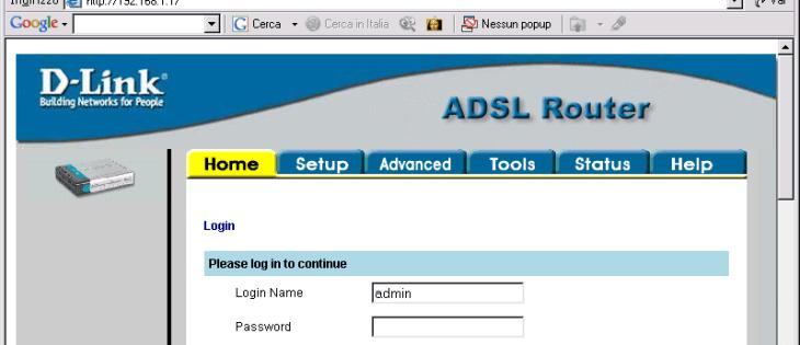 Come aggiornare indirizzo IP router
