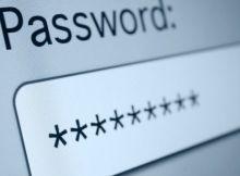 in questa immagine è presente la parola password con sotto degli asterischi.