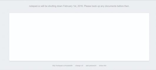screenshot notepad.cc