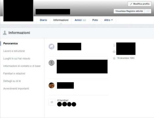 Mostrare/nascondere la data di nascita su Facebook