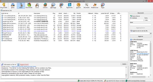Server per eMule 0.50B beta 1