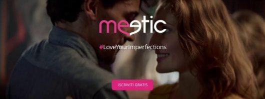 Come funziona Meetic homepage