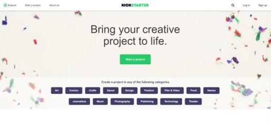 Secondo passo per creare una campagna su Kickstarter