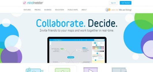 MindMeister app per mappe concettuali