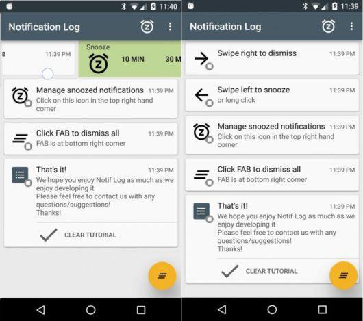 Notif Log Notification History è perfetta per leggere i messaggi cancellati su WhatsApp