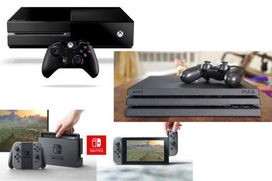 Le console videogiochi possono essere dei gadget tecnologici da regalare per Natale
