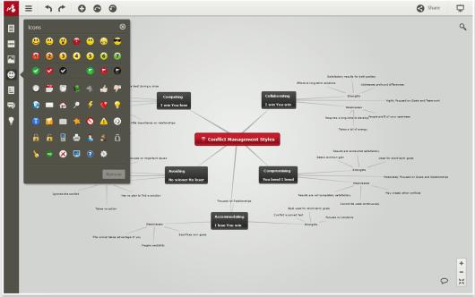 Mindomo, app per mappe concettuali