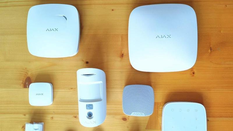 Ajax Systems security system update