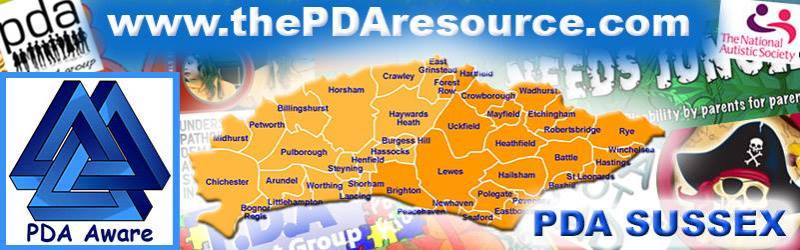 PDA support Sussex (East & West)