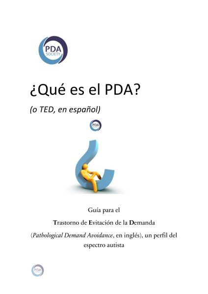 What is PDA? booklet in Spanish