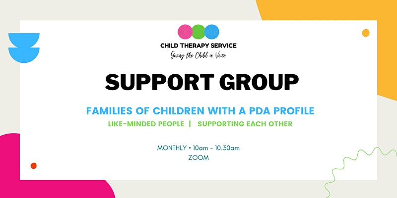 Zoom Support Group for Families of Children with a PDA Profile
