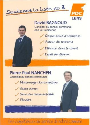 Election communale 2008