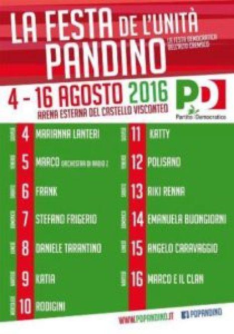2016 Manifesto Pandino