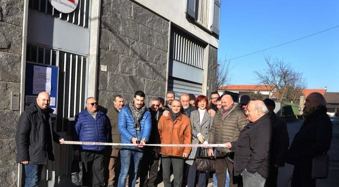 Inaugurata la nuova sede del circolo PD di Sergnano