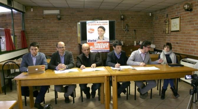 Po. Contratto di fiume e conferenza dei sindaci. L'incontro con la stampa di Galinberti, Dosi (sindaco di Piacenza) e Quintavalla ( sindaco castelletto)