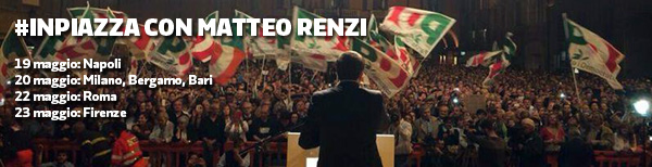 """Renzi a Milano e Bergamo: """"Domenica derby tra chi evoca paura e chi dice proviamoci"""""""