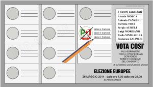 Come si vota! Il FAC-SIMILE di scheda per le Europee e per la città di Cremona.