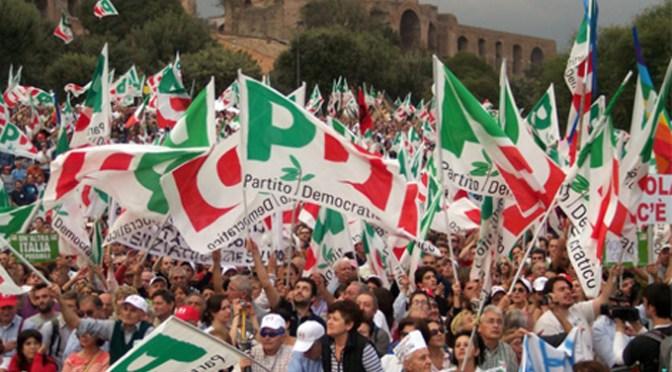 Mobilitazione straordinaria del PD il 16, 17 e 18 maggio: 10.000 banchetti in tutta Italia.