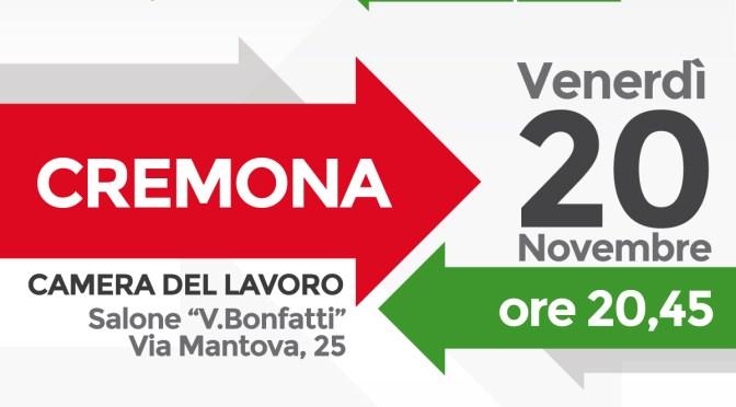 Verso Lombardia 2018. Oggi in provincia di Cremona il gruppo regionale PD. E stasera assemblea a Cremona con il segretario regionale ALFIERI e il capogruppo BRAMBILLA, ore 20,45