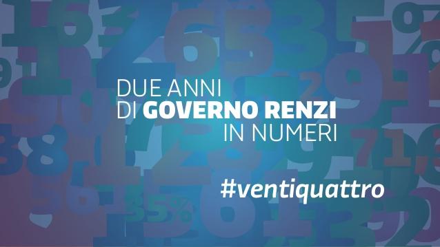 Ventiquattro mesi di Governo Renzi. I Risultati!