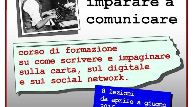 """CORSO DI FORMAZIONE PD 2016: """"IMPARARE A COMUNICARE"""""""