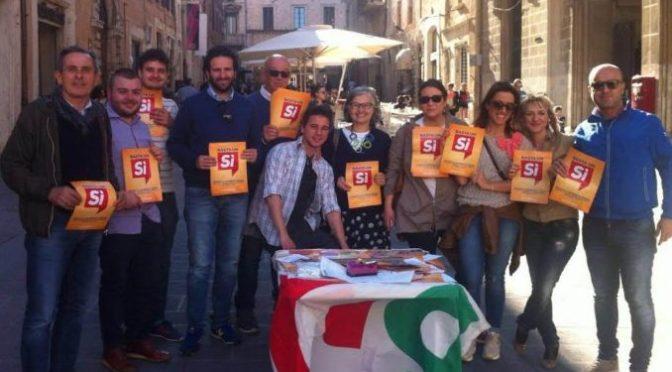 Basta un SI: nei prossimi giorni più di 50 presìdi in provincia di Cremona. La lettera di Matteo Piloni agli iscritti ed elettori