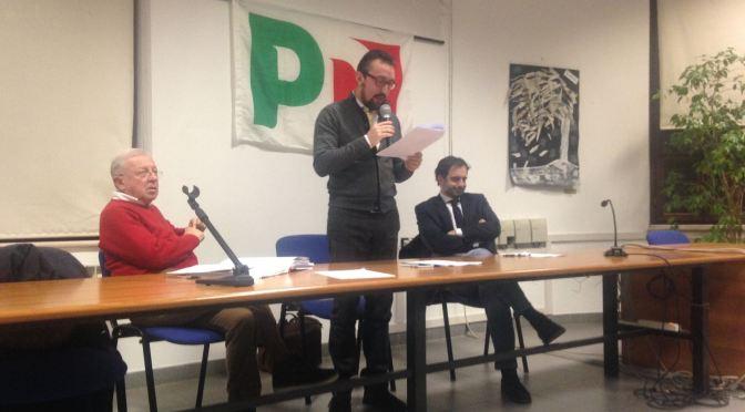 Assemblea provinciale PD: la relazione del segretario Matteo Piloni
