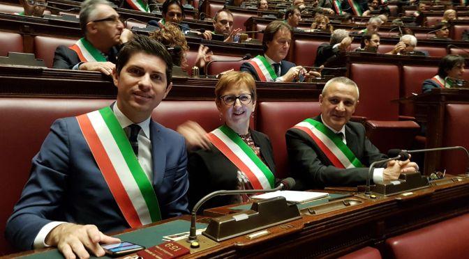 Le città del futuro: anche tre sindaci della Provincia di Cremona presenti alla Camera dei Deputati