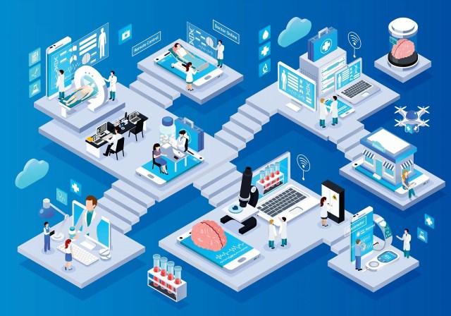 Healthcare in a remote world.
