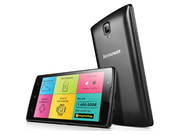 Lenovo A2010 Smartphone Full Specification