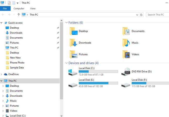 How to Hide folder in Windows 10