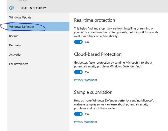How to secure your computer using windows defender