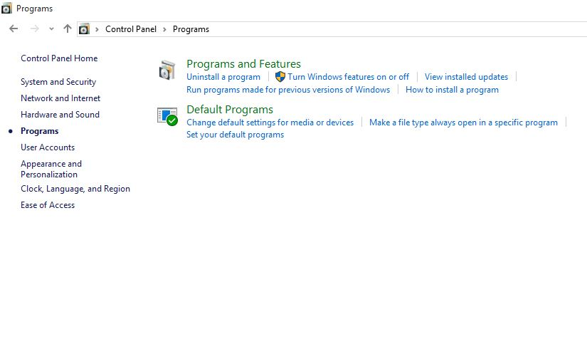 How to uninstall Software from Windows 10 PC