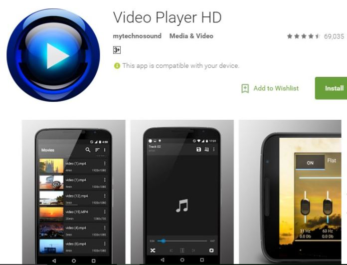 HD Video Player - For Android Devices