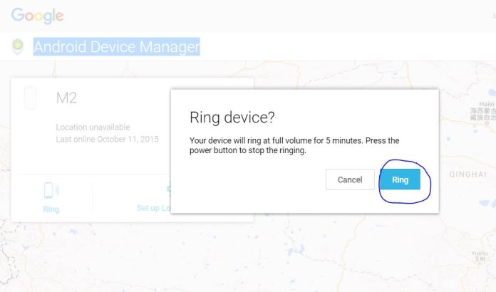 How to find your lost phone or tablet with Android Device