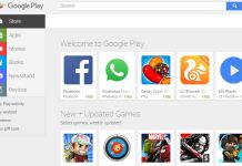 Removing data from a mobile device using gmail and google play store