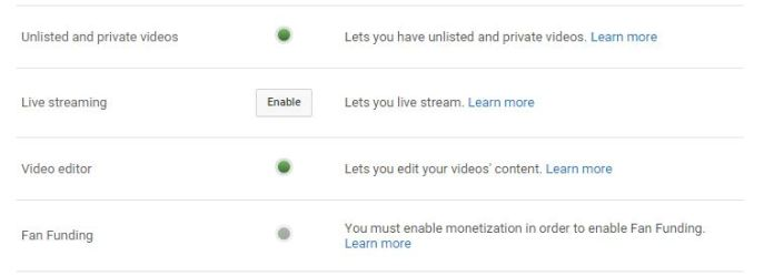 Enable Live Streaming on YouTube