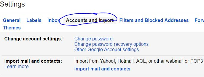 Fix other Email Account with Gmail