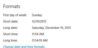 How to Change Time Zone, Date and Time Format in Windows 10 PC