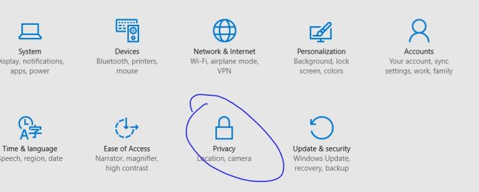 How to Turn OFf Location history storage feature in windows 10 PC and Mobile Phone