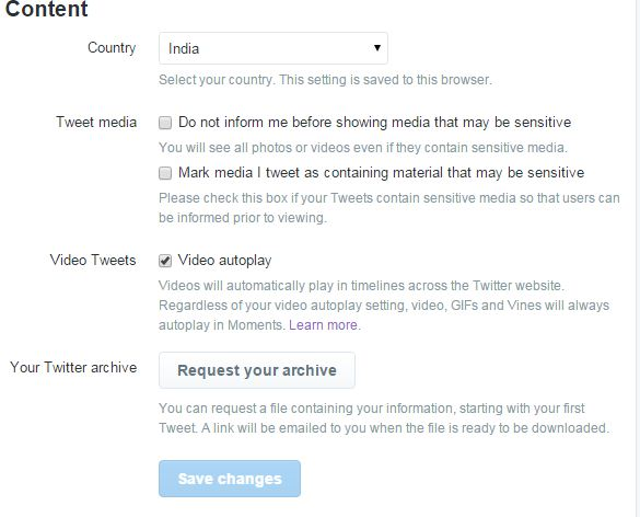 How to Turn off video autoplay on Twitter for Web