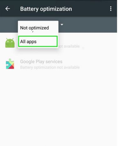 How to disable Doze mode for Android 6.0 Marshmallow apps